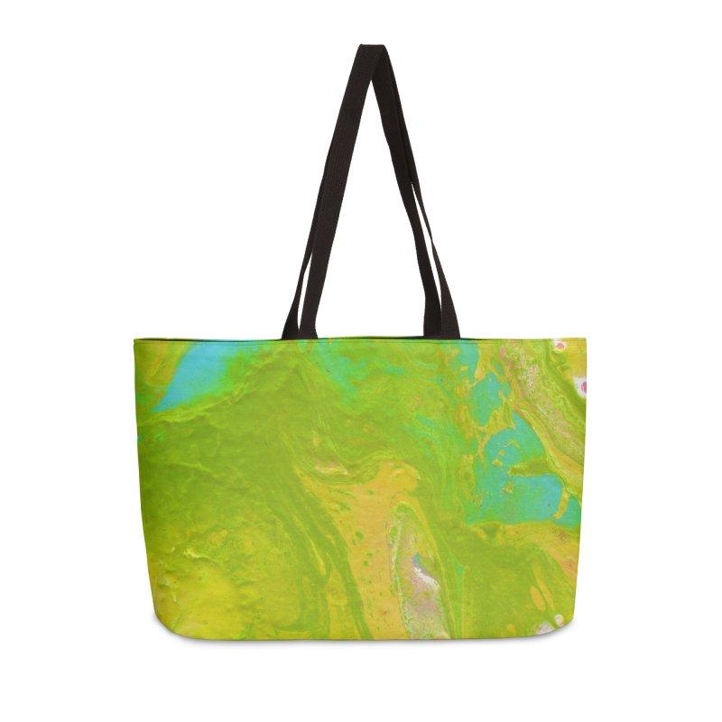 ninety2 Accessories Weekender Bag Bag by Jason Henricks' Artist Shop