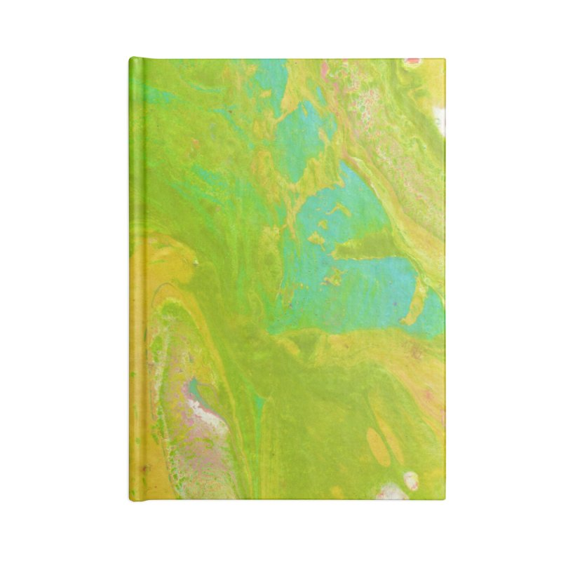 ninety2 Accessories Lined Journal Notebook by Jason Henricks' Artist Shop