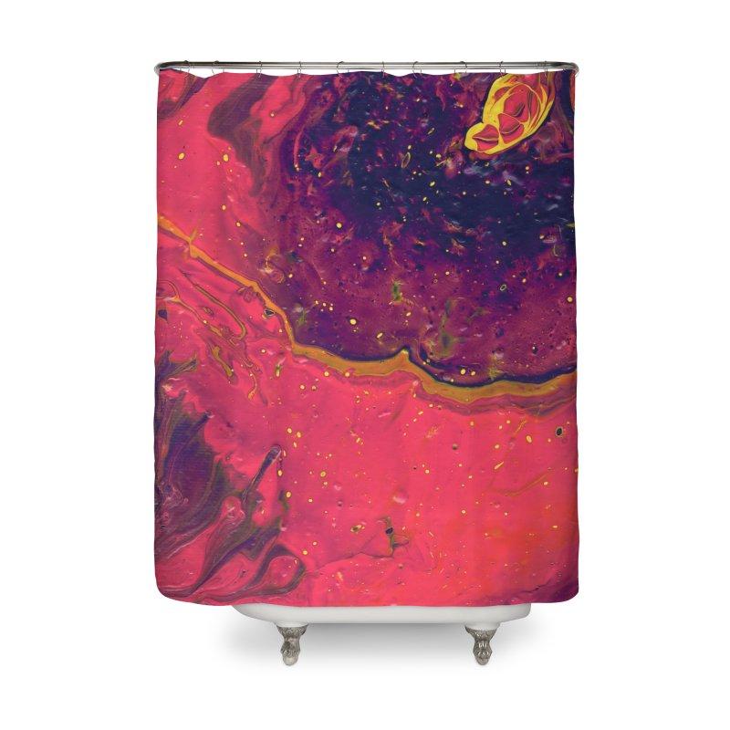 9t9 Home Shower Curtain by Jason Henricks' Artist Shop