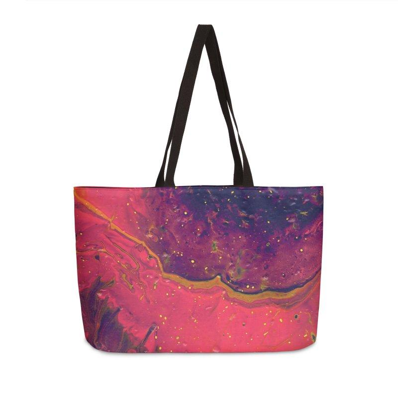 9t9 Accessories Weekender Bag Bag by Jason Henricks' Artist Shop
