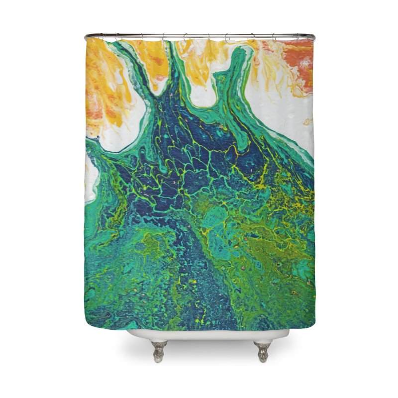 ninety5 Home Shower Curtain by Jason Henricks' Artist Shop