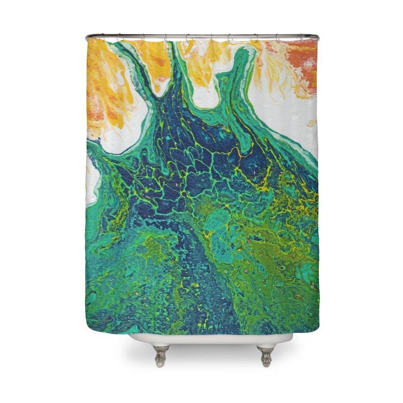 ninety5 Home Shower Curtain by Jason Henricks' Artist Shop