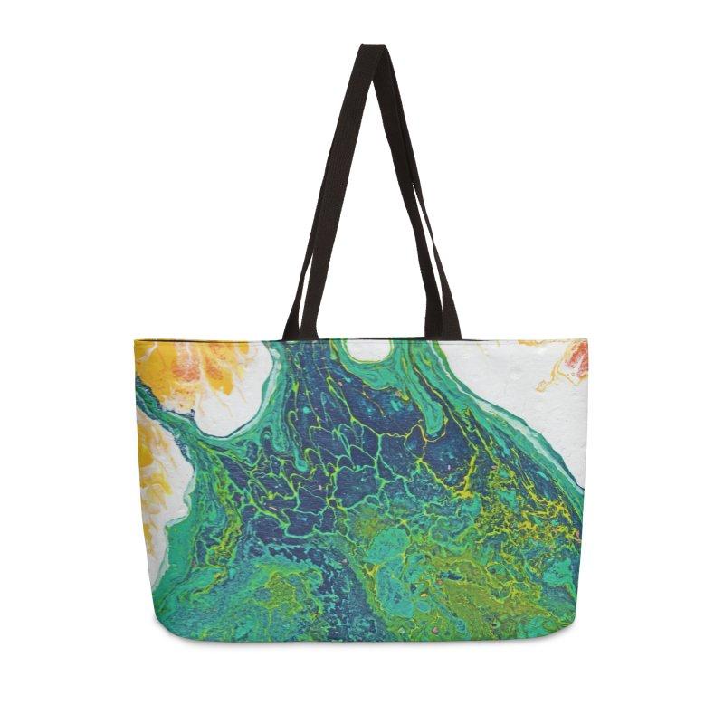 ninety5 Accessories Weekender Bag Bag by Jason Henricks' Artist Shop
