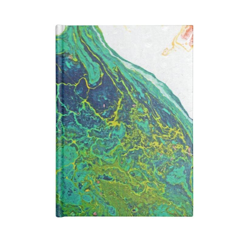 ninety5 Accessories Lined Journal Notebook by Jason Henricks' Artist Shop