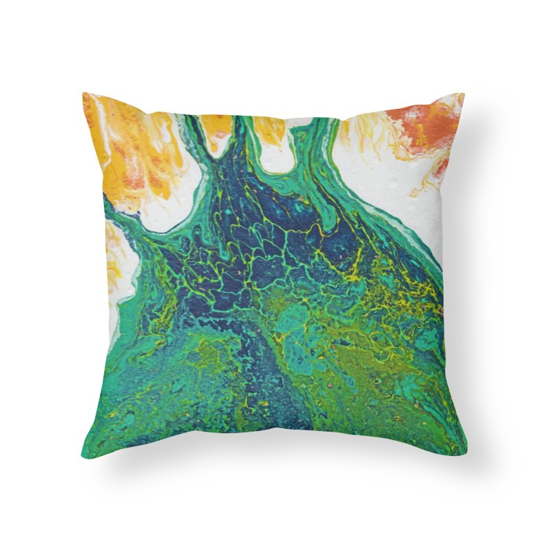 ninety5 Home Throw Pillow by Jason Henricks' Artist Shop
