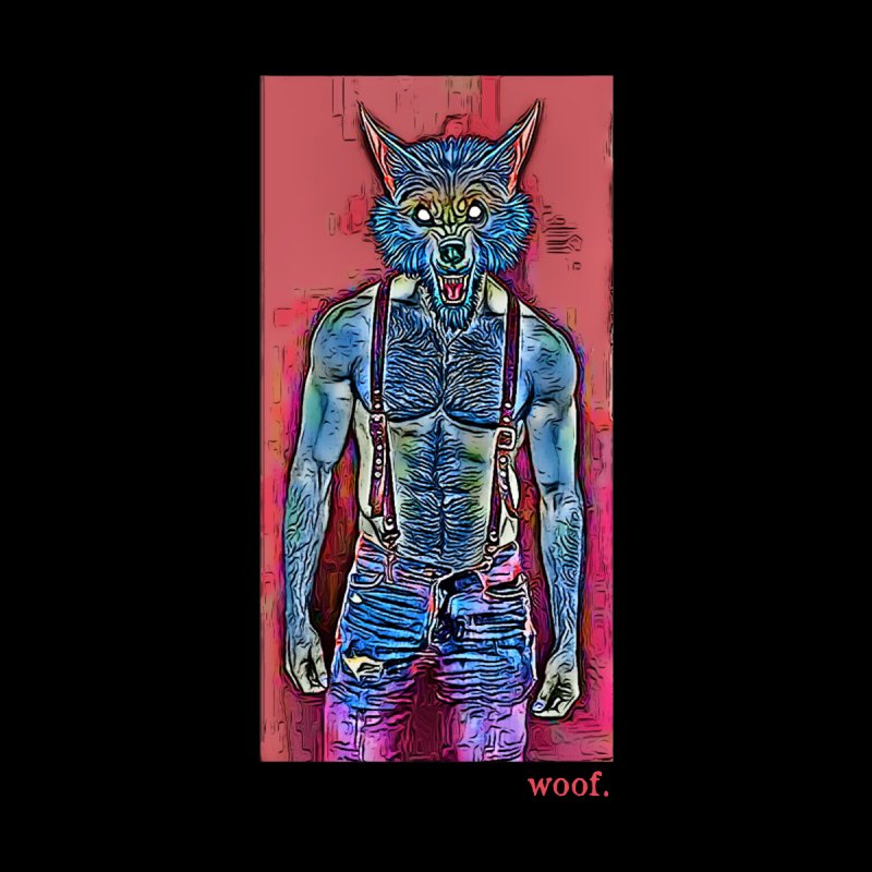 woof. Accessories Beach Towel by Jason Henricks' Artist Shop