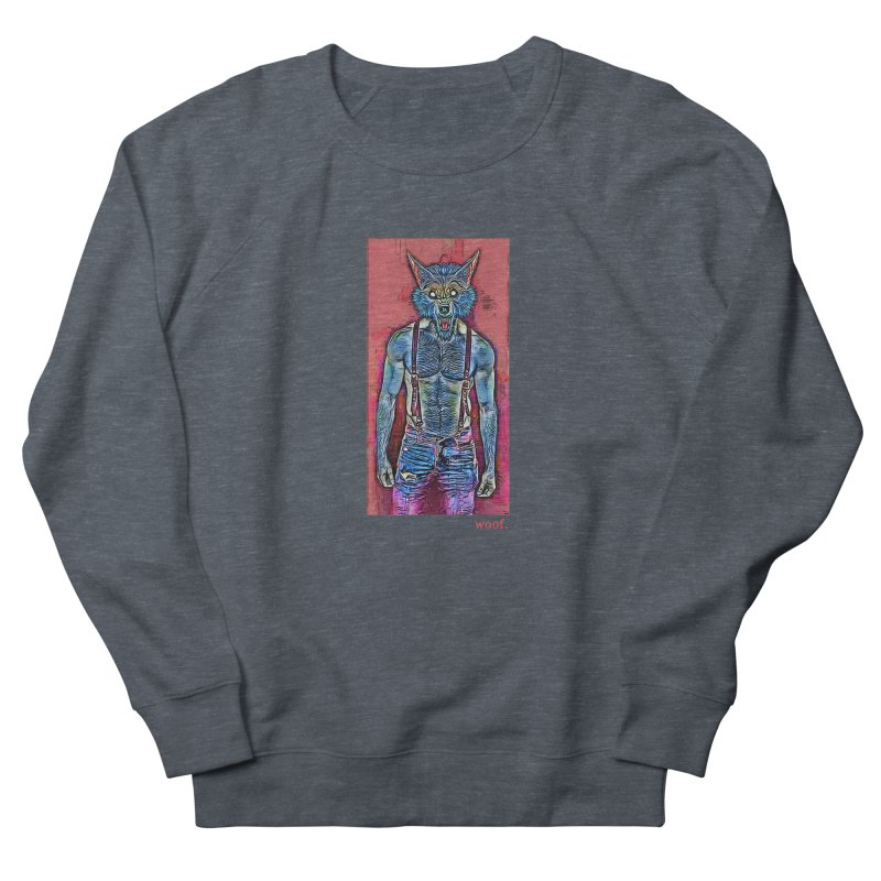 woof. Women's Sweatshirt by Jason Henricks' Artist Shop