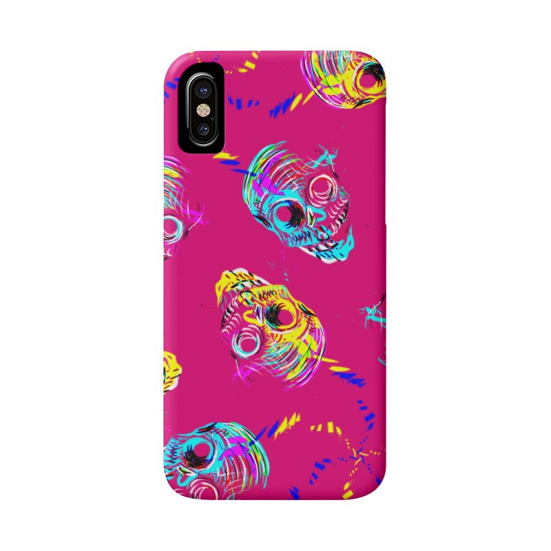ghouls weekend in iPhone X / XS Phone Case Slim by Jason Henricks' Artist Shop