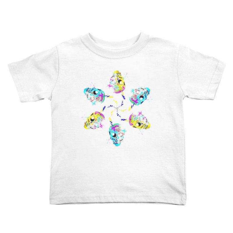 ghouls weekend Kids Toddler T-Shirt by Jason Henricks' Artist Shop