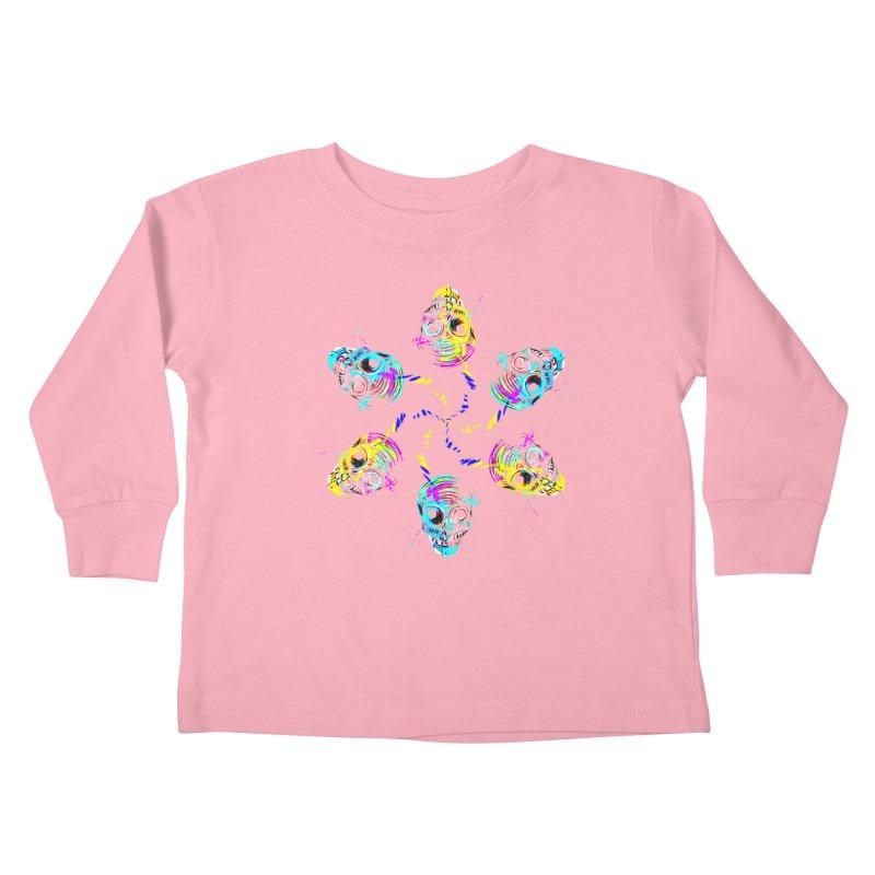 ghouls weekend Kids Toddler Longsleeve T-Shirt by Jason Henricks' Artist Shop