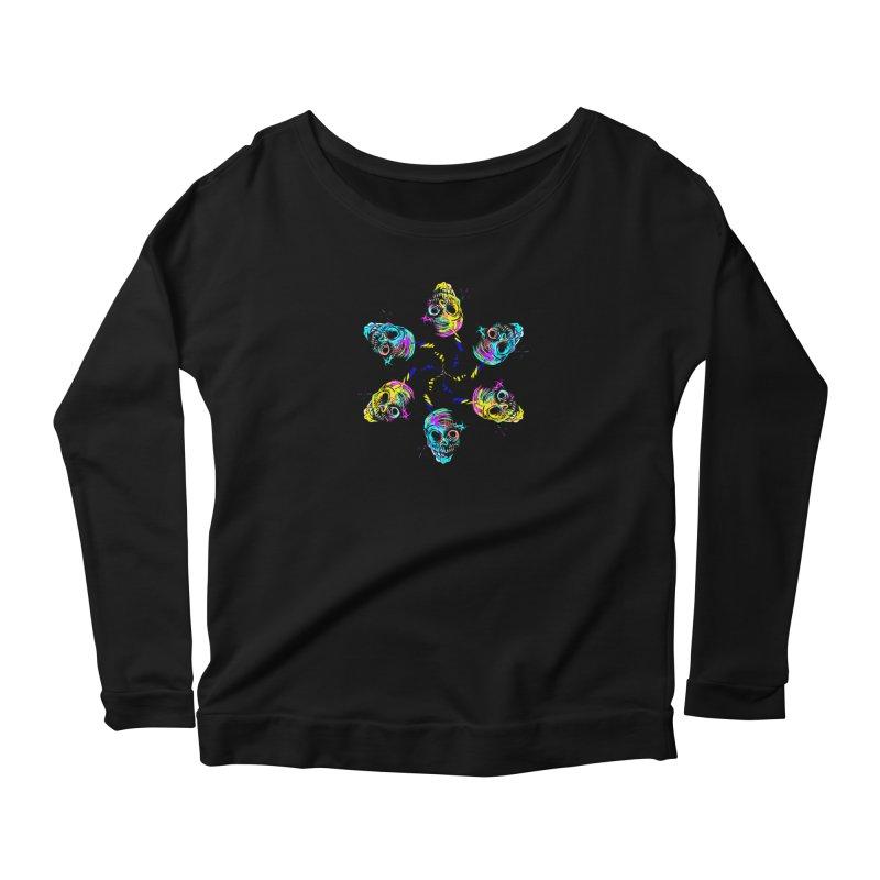 ghouls weekend Women's Scoop Neck Longsleeve T-Shirt by Jason Henricks' Artist Shop