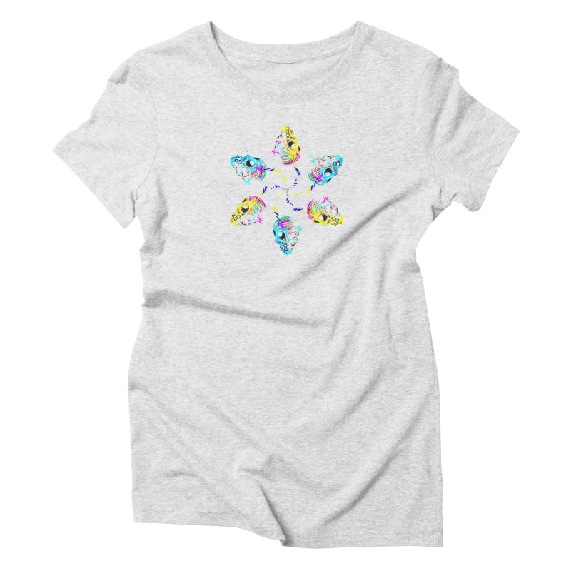 ghouls weekend Women's Triblend T-Shirt by Jason Henricks' Artist Shop