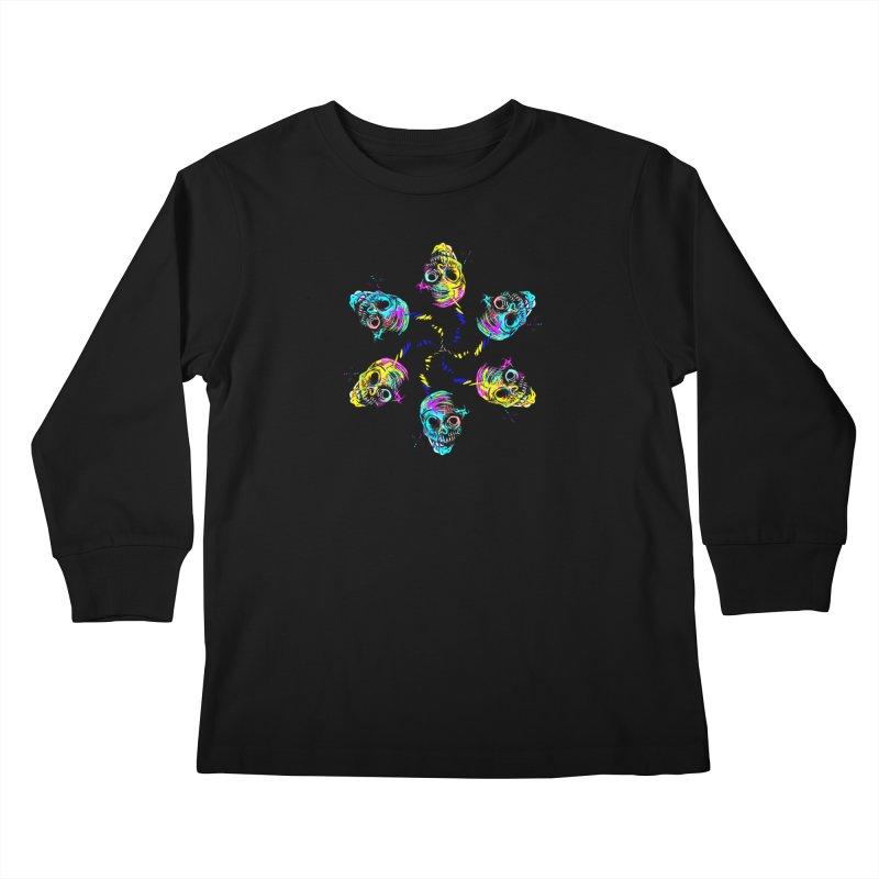 ghouls weekend Kids Longsleeve T-Shirt by Jason Henricks' Artist Shop