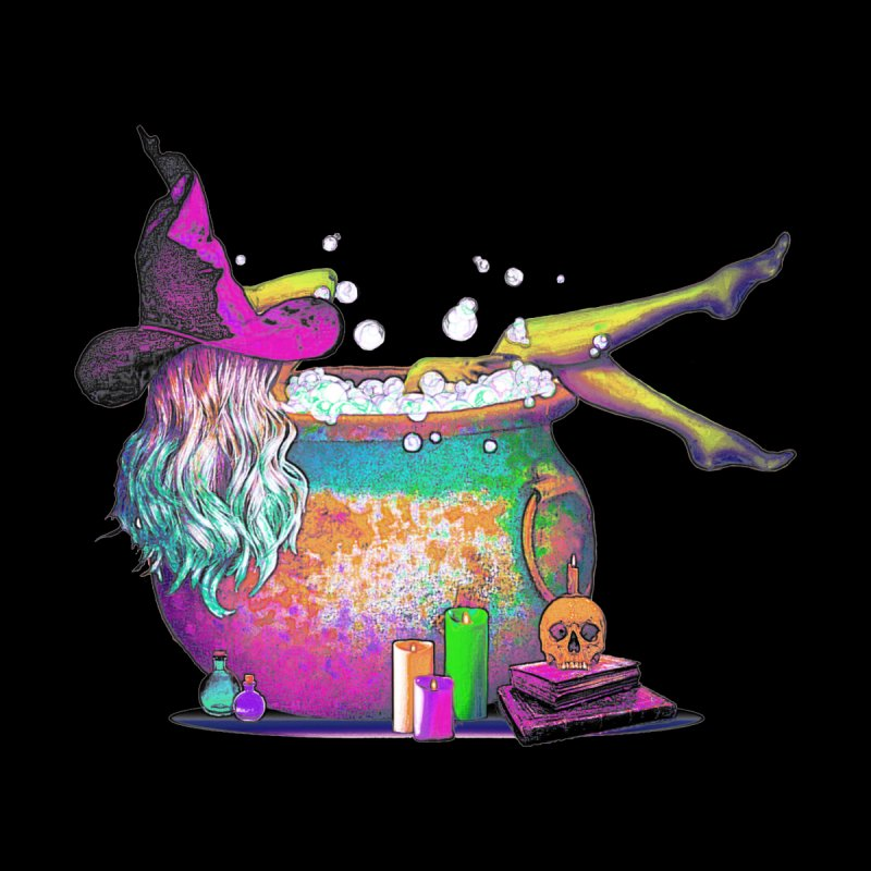 A little witchy.- Psychedelic Edition   by Jason Henricks' Artist Shop