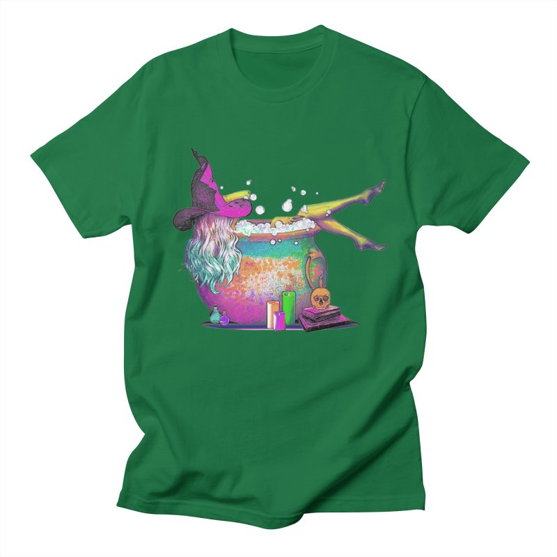 A little witchy.- Psychedelic Edition Men's T-shirt by Jason Henricks' Artist Shop