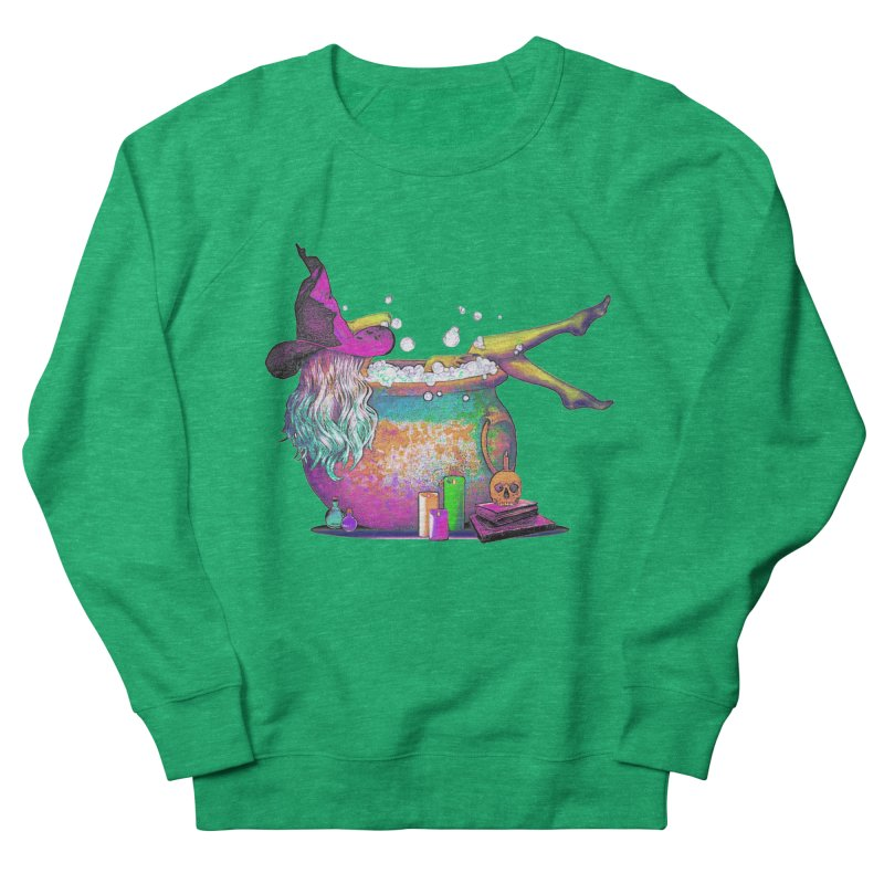 A little witchy.- Psychedelic Edition Women's Sweatshirt by Jason Henricks' Artist Shop