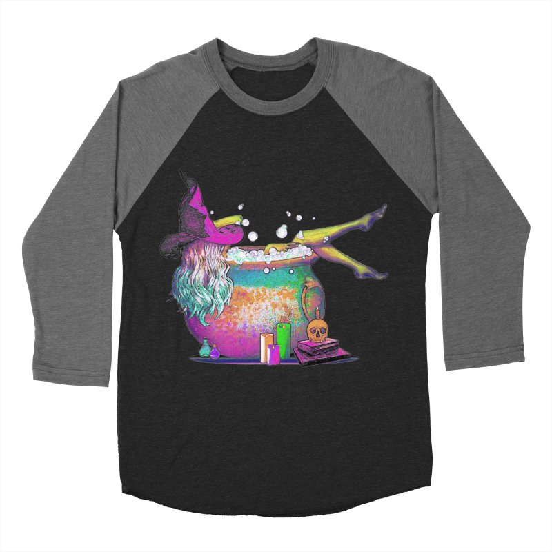 A little witchy.- Psychedelic Edition Women's Baseball Triblend T-Shirt by Jason Henricks' Artist Shop