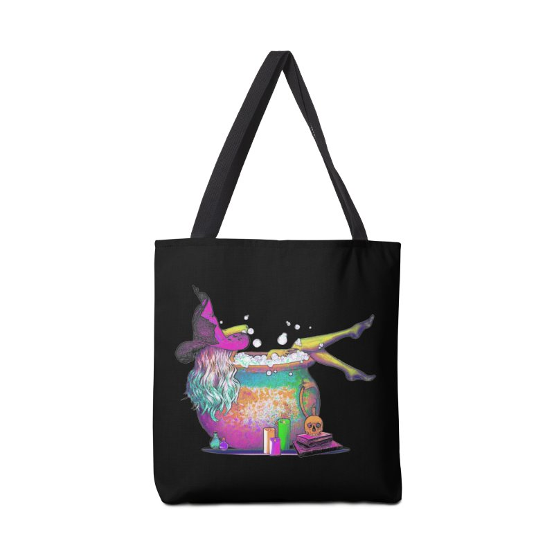 A little witchy.- Psychedelic Edition Accessories Bag by Jason Henricks' Artist Shop