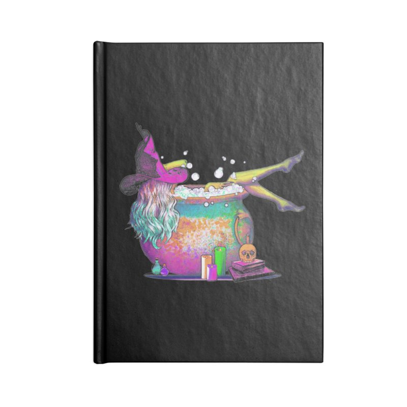 A little witchy.- Psychedelic Edition Accessories Notebook by Jason Henricks' Artist Shop