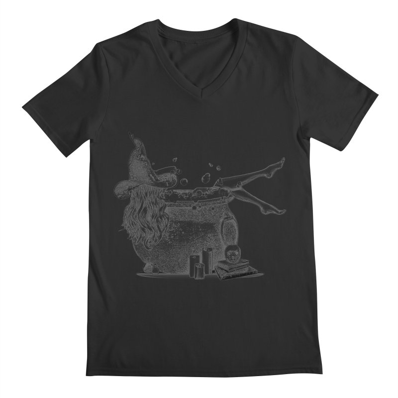 A little witchy. Men's V-Neck by Jason Henricks' Artist Shop