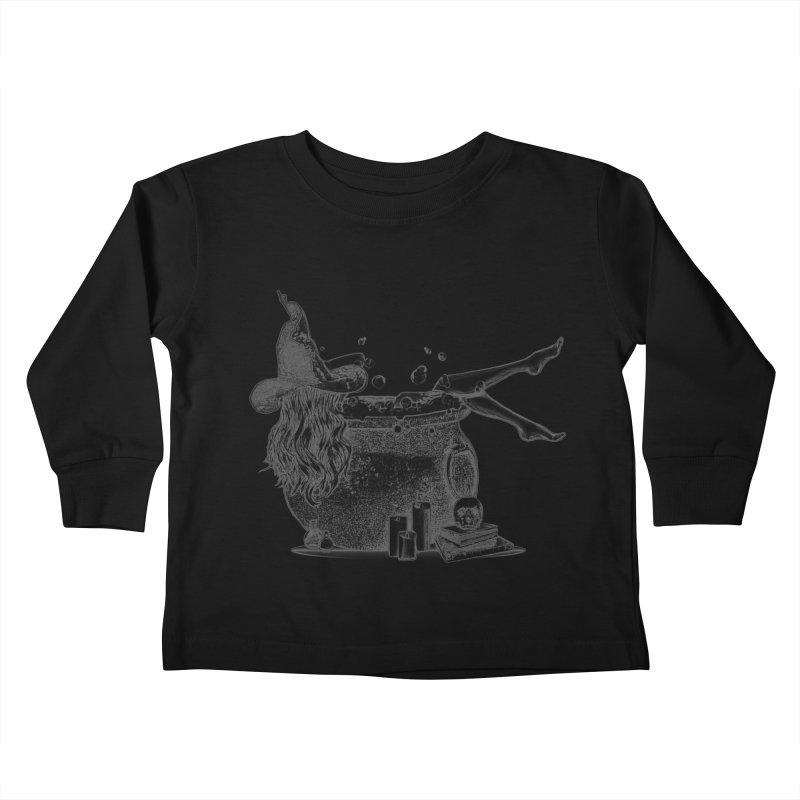 A little witchy. Kids Toddler Longsleeve T-Shirt by Jason Henricks' Artist Shop