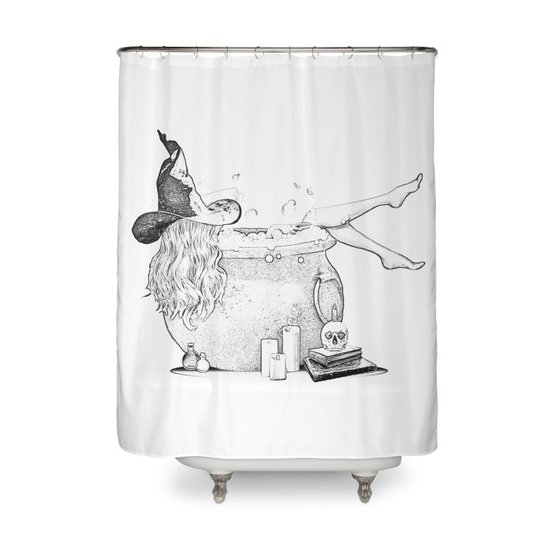 A little witchy. Home Shower Curtain by Jason Henricks' Artist Shop