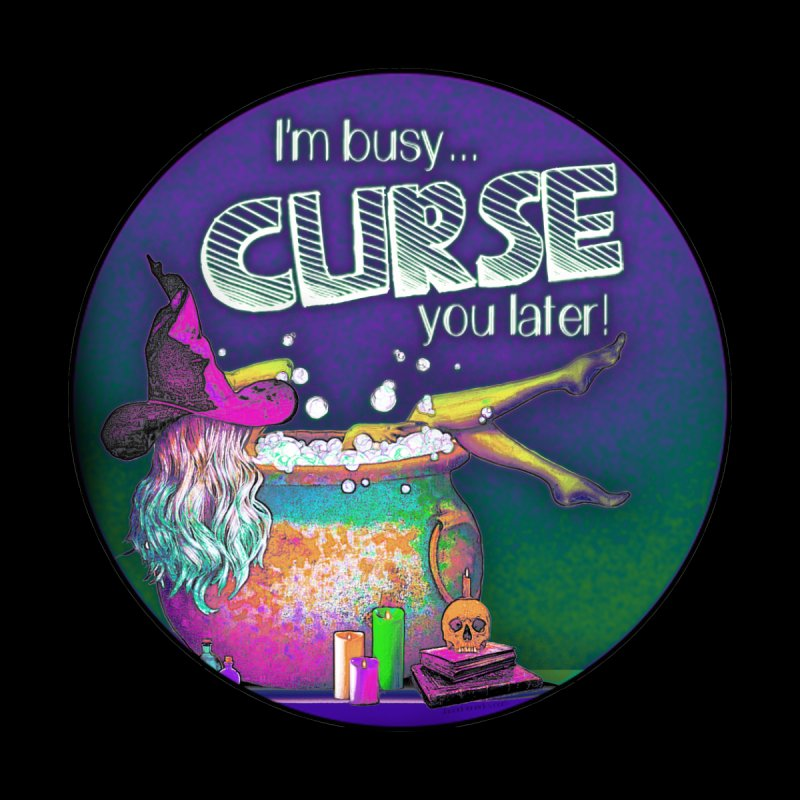 Curse You Later Accessories Sticker by Jason Henricks' Artist Shop