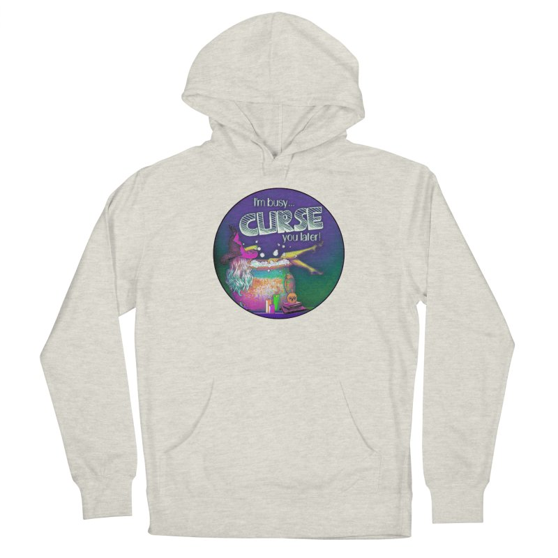 Curse You Later Men's French Terry Pullover Hoody by Jason Henricks' Artist Shop