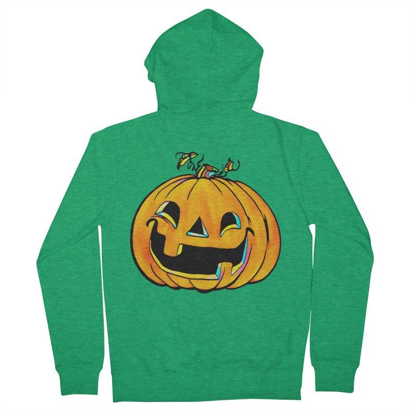 Party Pumpkin  Women's Zip-Up Hoody by Jason Henricks' Artist Shop