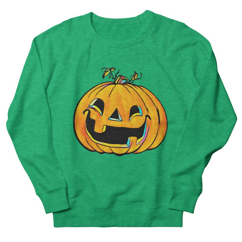 Party Pumpkin  Women's Sweatshirt by Jason Henricks' Artist Shop