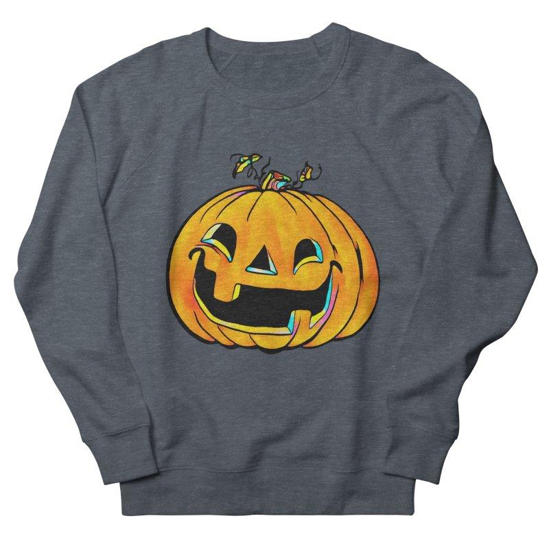 Party Pumpkin  Men's Sweatshirt by Jason Henricks' Artist Shop
