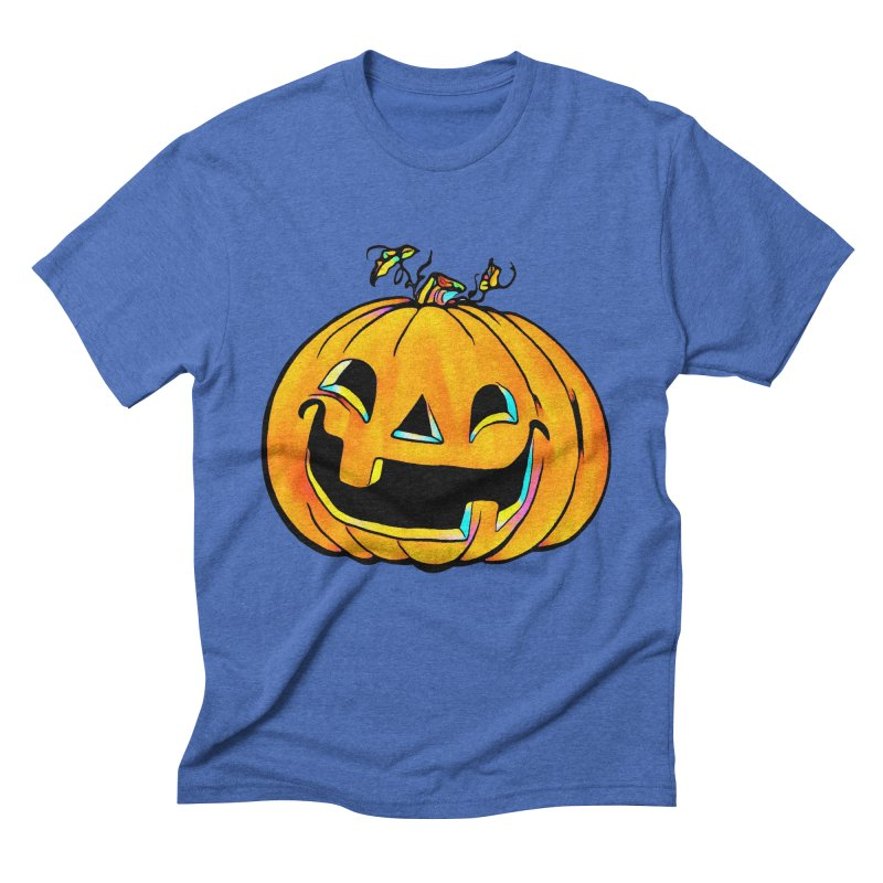 Party Pumpkin Men's T-Shirt by Jason Henricks' Artist Shop