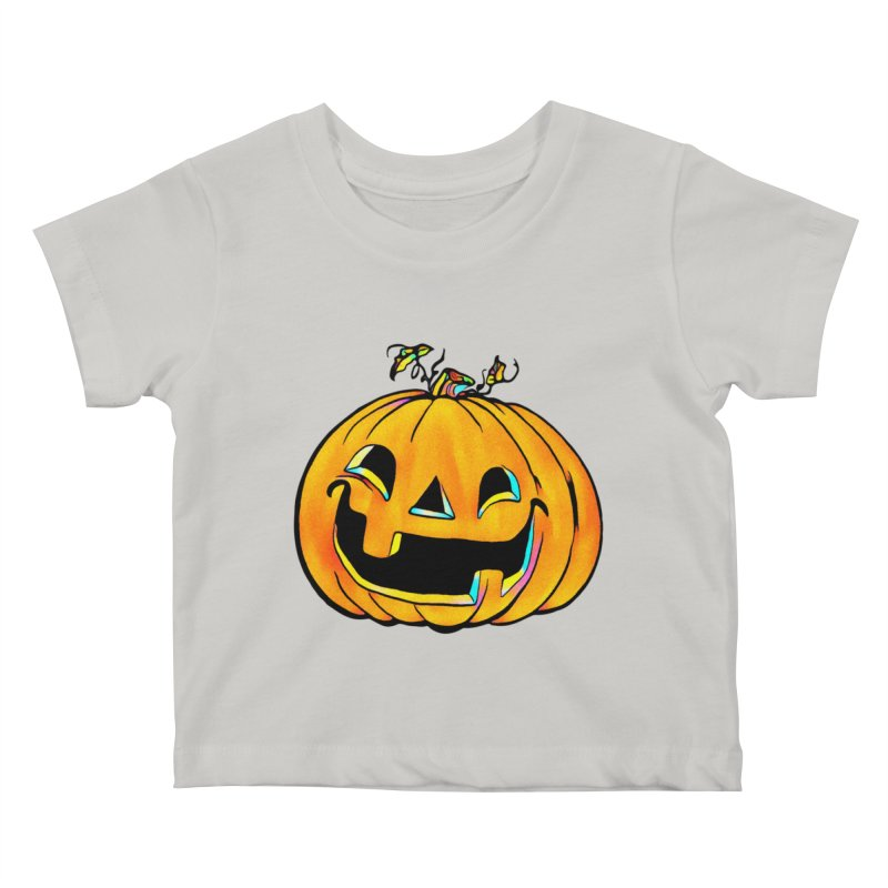 Party Pumpkin  Kids Baby T-Shirt by Jason Henricks' Artist Shop