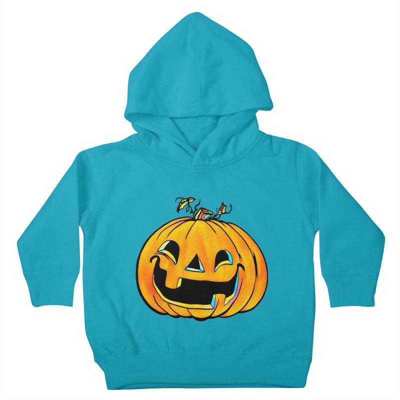Party Pumpkin  Kids Toddler Pullover Hoody by Jason Henricks' Artist Shop