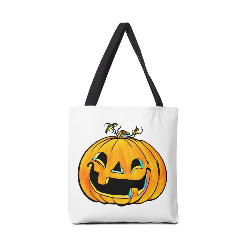 Party Pumpkin  Accessories Bag by Jason Henricks' Artist Shop