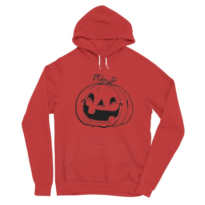 Party Pumpkin, Ghost of Women's Sponge Fleece Pullover Hoody by Jason Henricks' Artist Shop