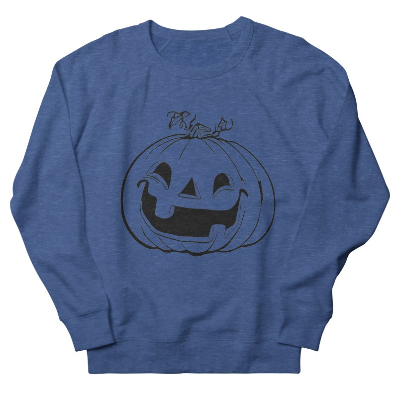 Party Pumpkin (Version 2) Women's Sweatshirt by Jason Henricks' Artist Shop
