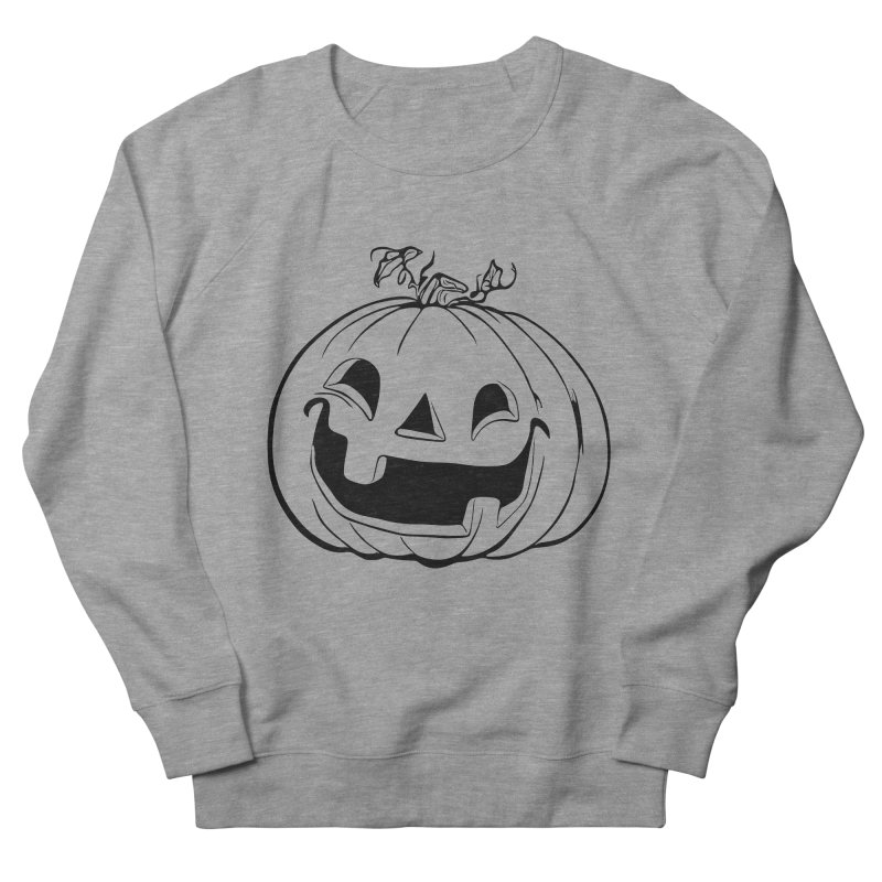 Party Pumpkin (Version 2) Men's Sweatshirt by Jason Henricks' Artist Shop