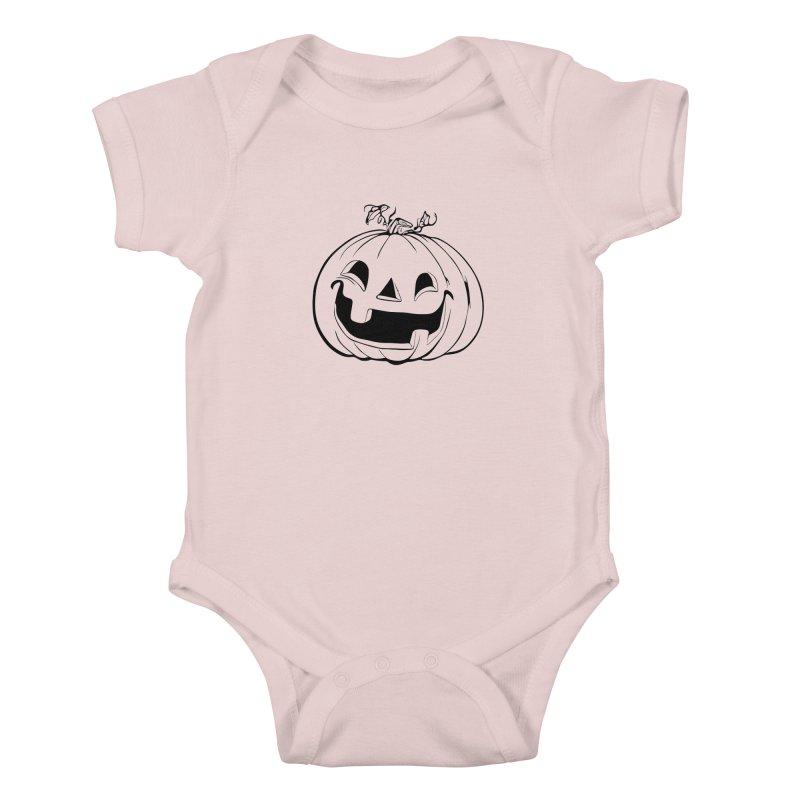 Party Pumpkin, Ghost of Kids Baby Bodysuit by Jason Henricks' Artist Shop