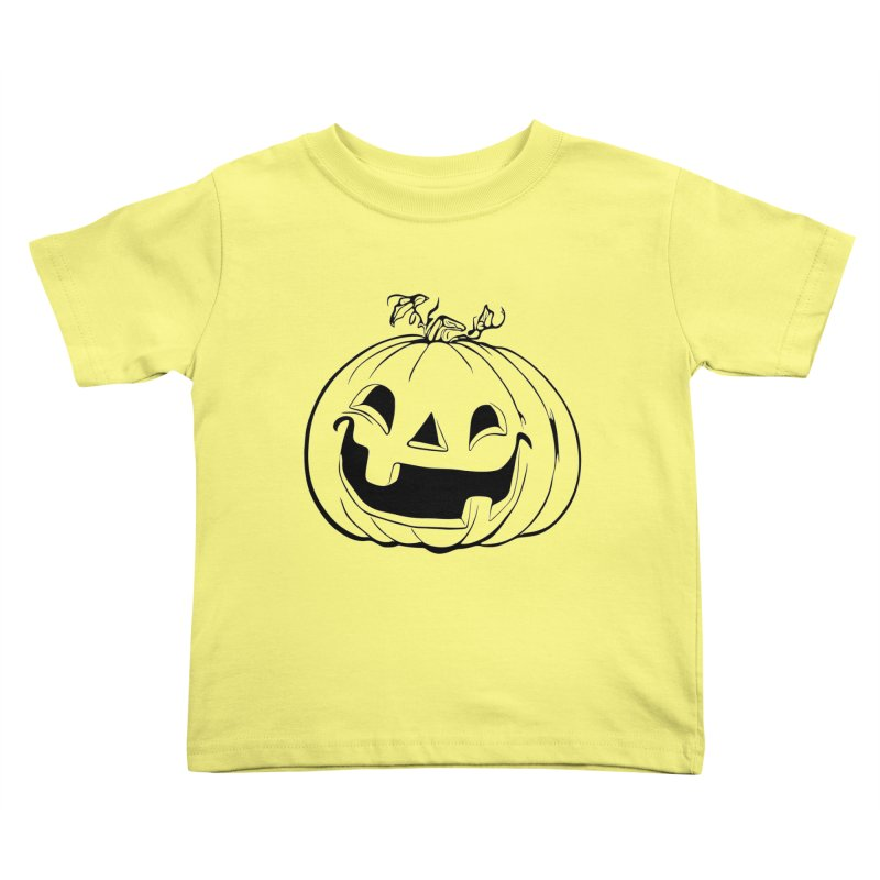 Party Pumpkin, Ghost of Kids Toddler T-Shirt by Jason Henricks' Artist Shop