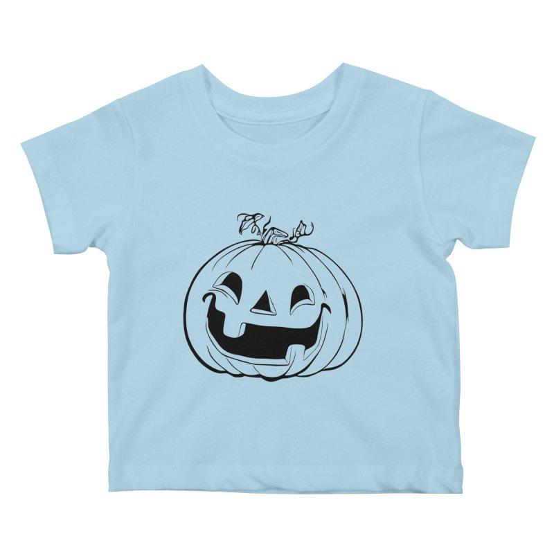 Party Pumpkin, Ghost of Kids Baby T-Shirt by Jason Henricks' Artist Shop