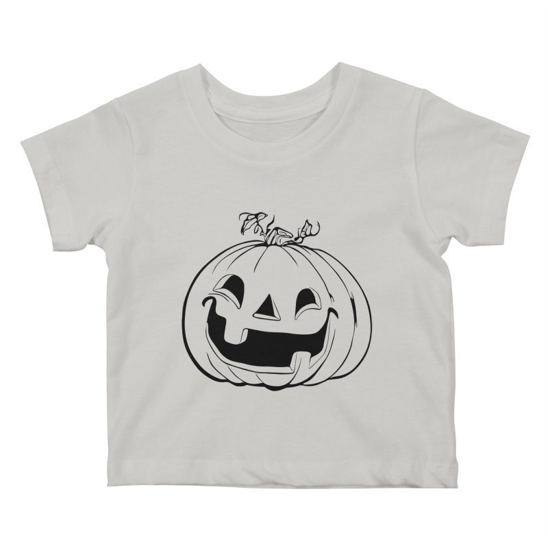 Party Pumpkin (Version 2) Kids Baby T-Shirt by Jason Henricks' Artist Shop