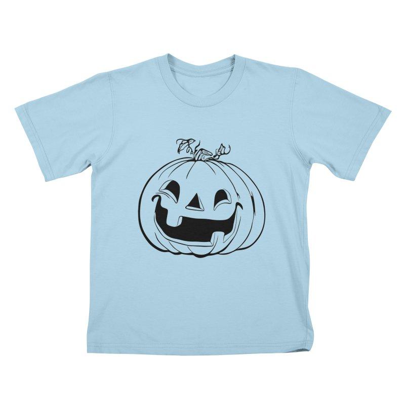 Party Pumpkin, Ghost of Kids T-Shirt by Jason Henricks' Artist Shop
