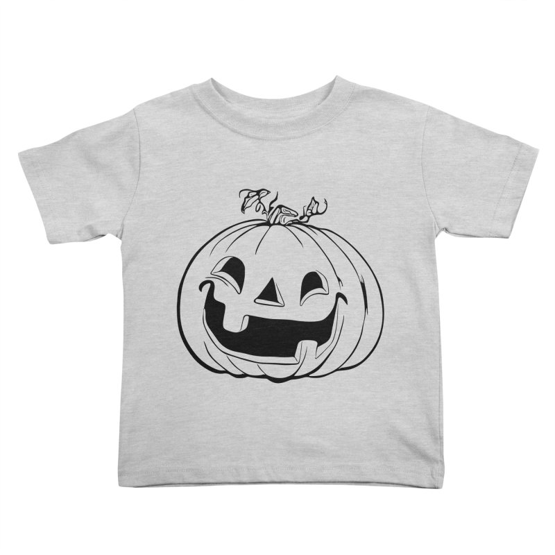 Party Pumpkin (Version 2) Kids Toddler T-Shirt by Jason Henricks' Artist Shop