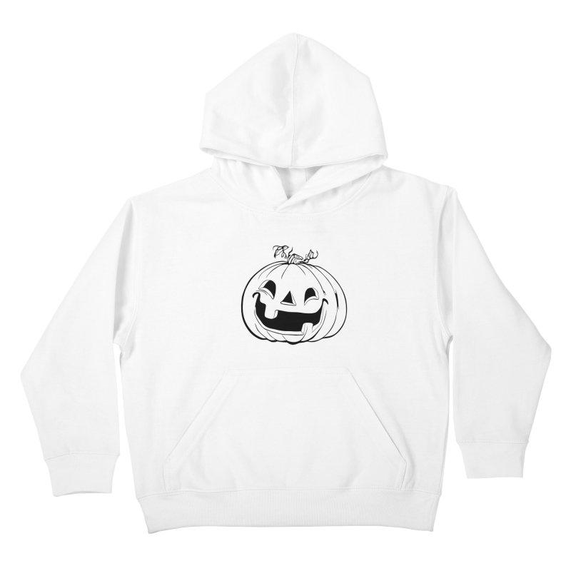 Party Pumpkin (Version 2) Kids Pullover Hoody by Jason Henricks' Artist Shop