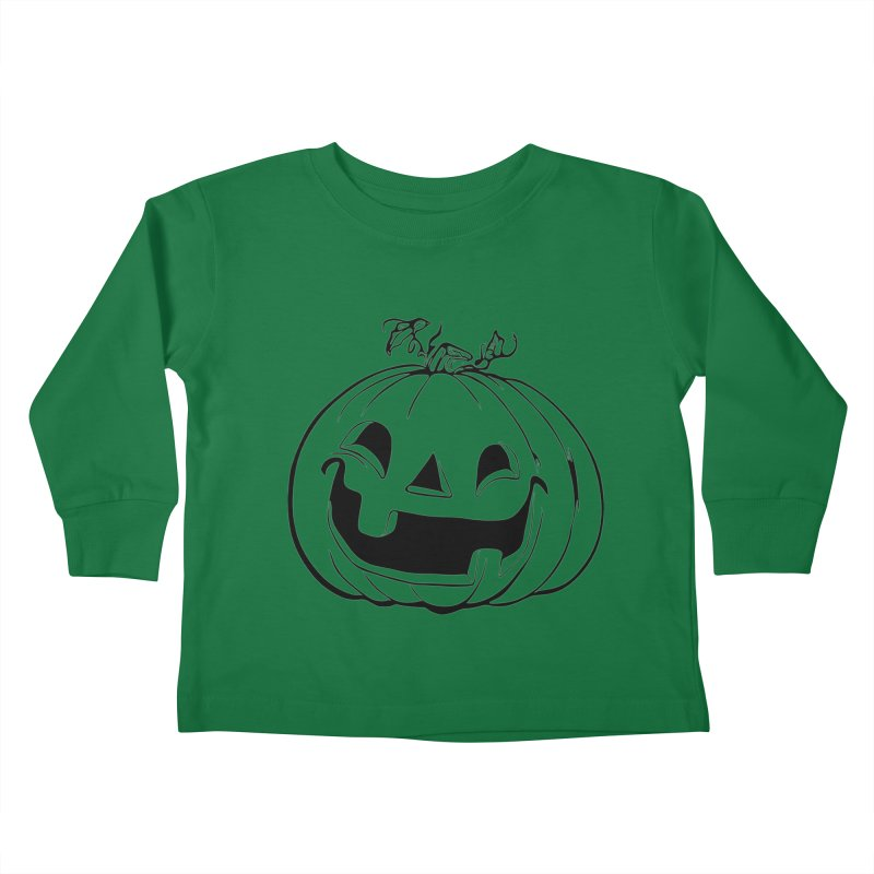 Party Pumpkin, Ghost of Kids Toddler Longsleeve T-Shirt by Jason Henricks' Artist Shop