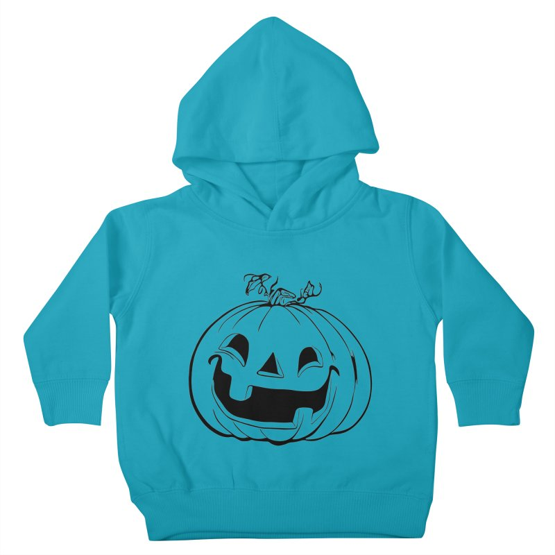 Party Pumpkin (Version 2) Kids Toddler Pullover Hoody by Jason Henricks' Artist Shop
