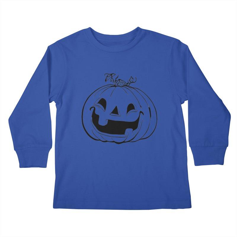 Party Pumpkin, Ghost of Kids Longsleeve T-Shirt by Jason Henricks' Artist Shop