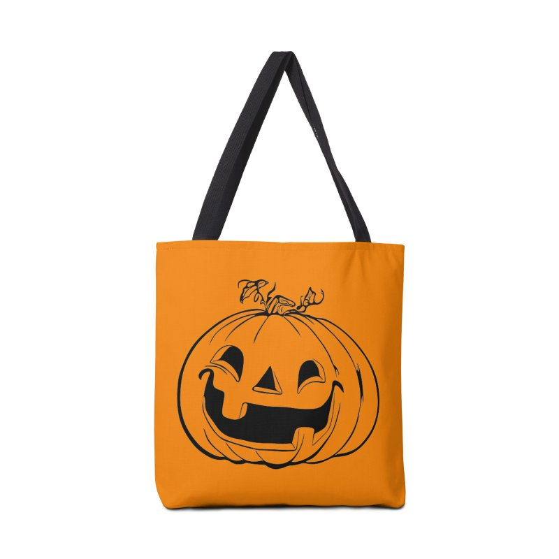 Party Pumpkin (Version 2) Accessories Bag by Jason Henricks' Artist Shop