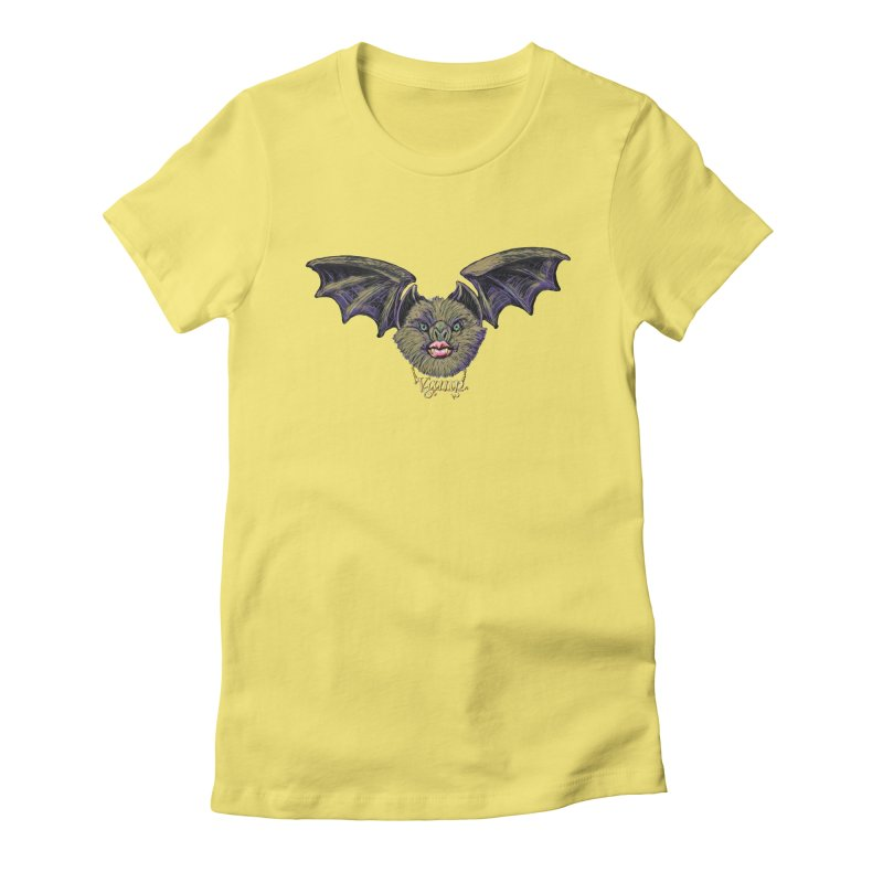 Vamp Women's Fitted T-Shirt by Jason Henricks' Artist Shop